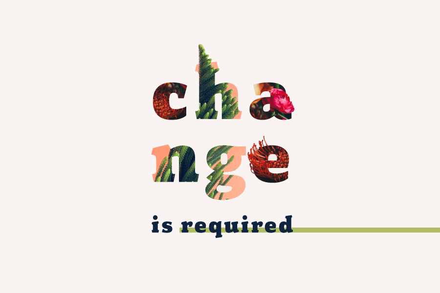 Change is required graphic design