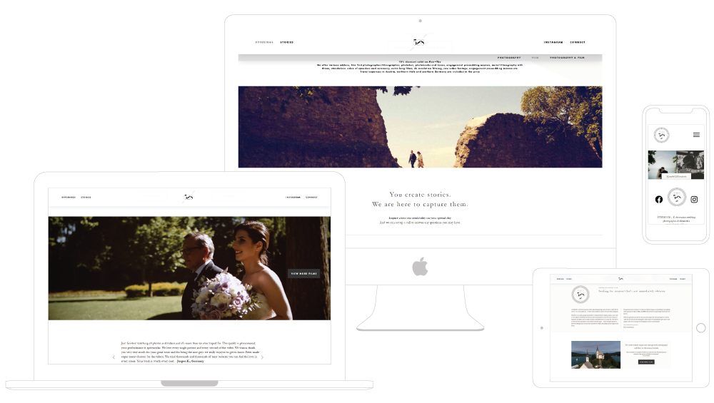 Studio528 Wedding Photography mock up