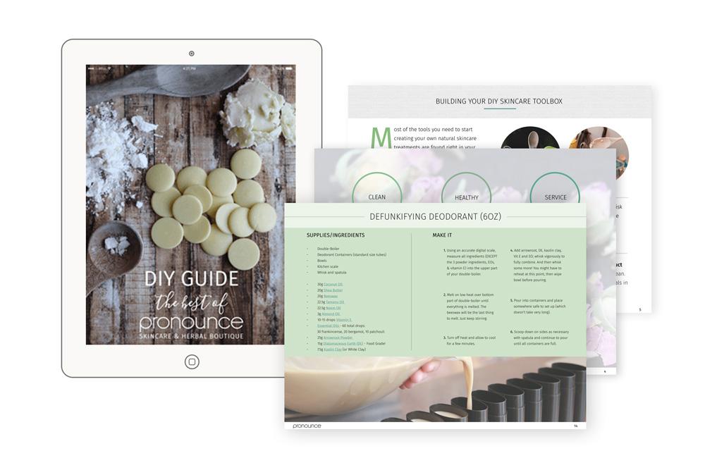 eBook for Pronounce Skincare