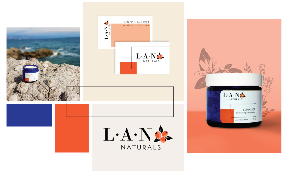 Branding and Graphics Showcase for LAN Naturals