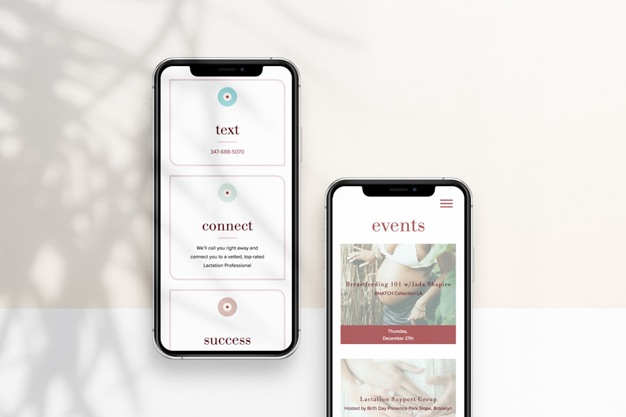 Mobile Web Design for GetBoober.com