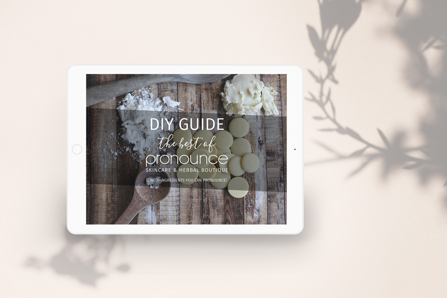 Ebook, Do it yourself Guide for Pronounce Skin Care