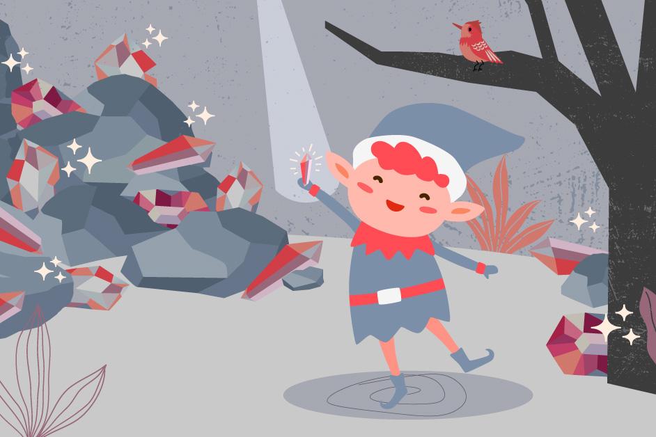 Custom illustration for Digital Assettes