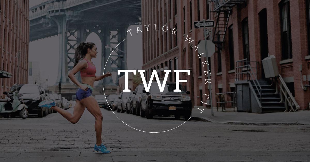 Custom logo and branding for Taylor Walker Fit
