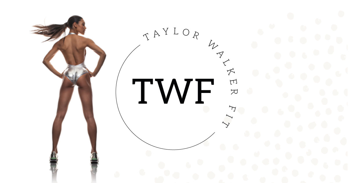 Custom logo and branding for Taylor Walker Fit